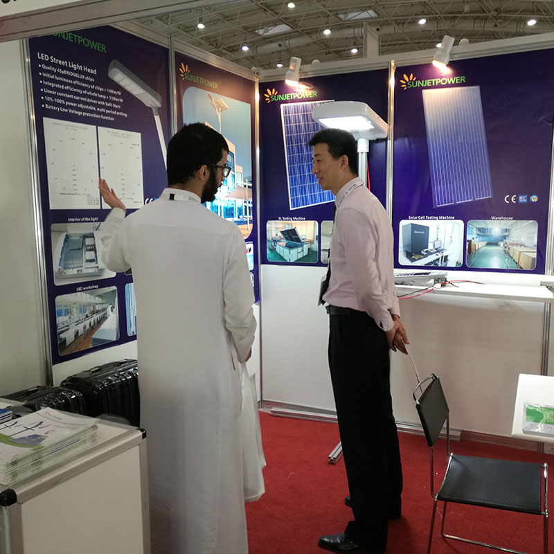 Saudi Arabia buyer visit our booth